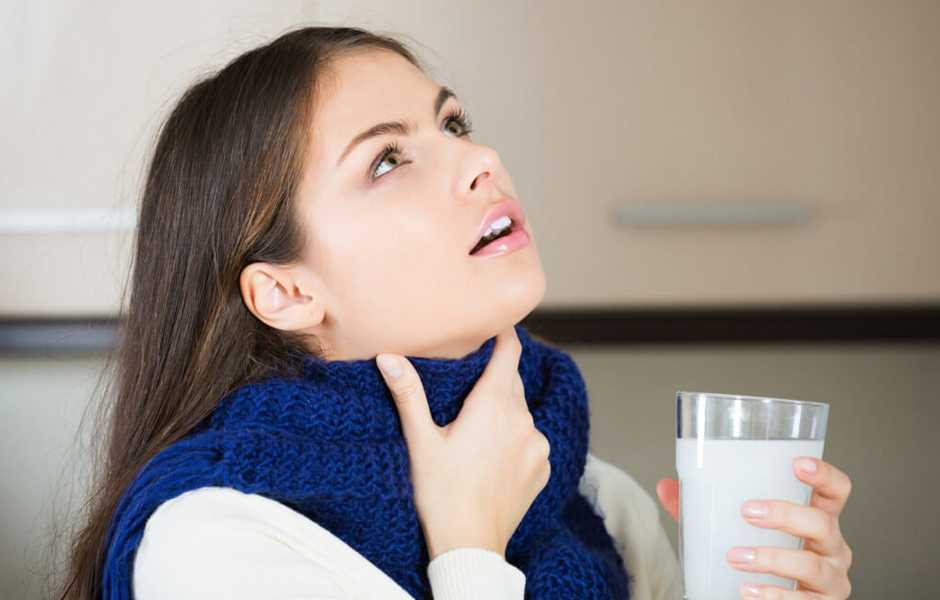 come far passare il mal di gola