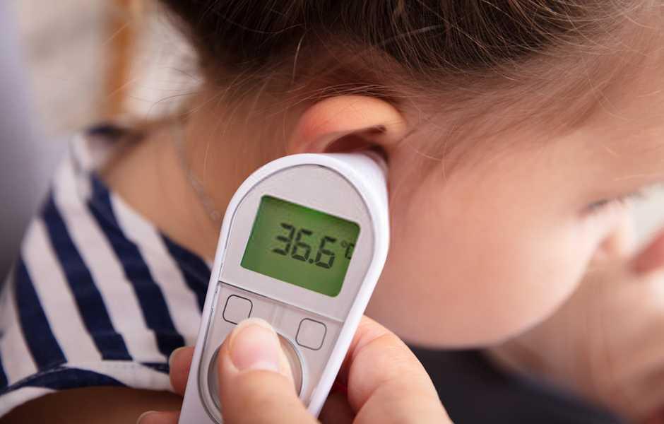 come misurare la febbre