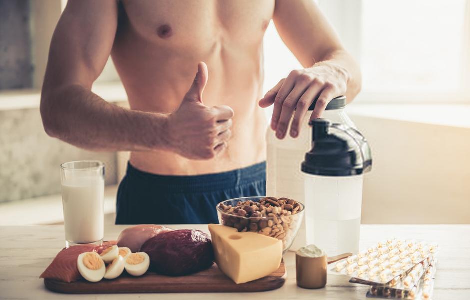dieta per massa muscolare